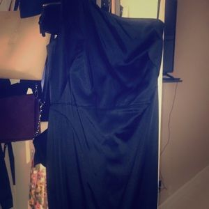 Calvin Klein mide length fitted dress.